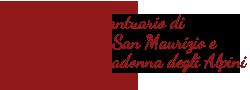 Santuario di San Maurizio e Madonna degli Alpini – Cuneo, Cervasca-Vignolo Logo